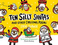 Ten Silly Santas, Steve Turner & Katie Abey