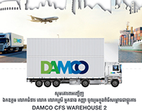 DAMCO CFS 2 WAREHOUSE INAUGURATION 4 APRIL, 2013