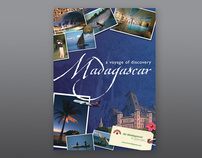 Air Madagascar - brochure and poster design
