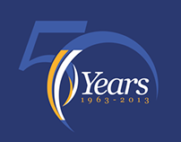 Emirates NBD - 50th Anniversary Logo Entry
