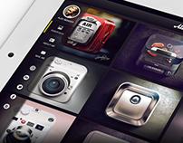iPad Mobile Portfolio