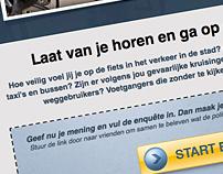 Regio politie Groningen - campaign website
