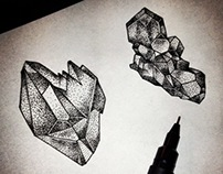 Crystals and Platonic solids