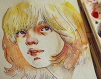 Watercolor Sketches (2014 to July 2015)