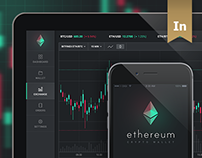 Ethereum - Dashboard / App UI