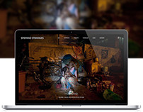 Stranges Image - Photographer web design
