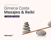 Gimena Costa - Masajes & Reiki - Identidad Corporativa