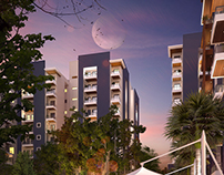 Evening Views (Ashray Housing)