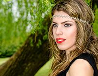 Shooting extérieur - Dihia chanteuse kabyle