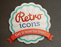 Retro icons / Freebie
