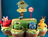 Jungle Junction Birthday Cake