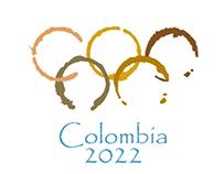 Colombia 2022 Olympics Logo Design
