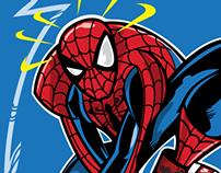 The Amazing Spider-Head!!!