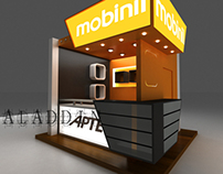 A booth for Mobinil n Aptec....2010