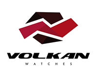 VOLKAN watches_logo design