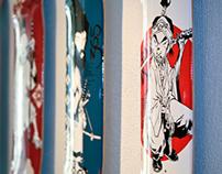 Skate deck 365 samurai