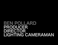 Ben Pollard Showreel 2016
