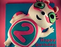 Numtums Birthday Cake