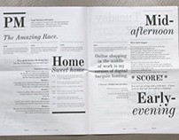Editorial Design: Typographic Newspaper