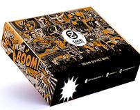 ZAHİRİ COMIC BOOKS BOX DESIGN