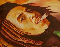 Bob Marley Watercolor