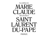 La confiture de Marie-Claude —Identity, 2016