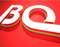 Cover 3D Logo Design for BQ Mobile