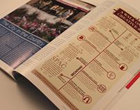Saratoga Living Magazine Infographic