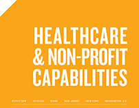 Kivvit Healthcare and NonProfit Capabilities Booklet
