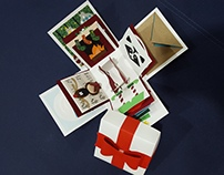 Christmas explosion box card