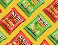 NISSIN STUFF'D Packaging | POSM