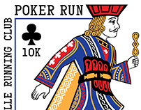 LRC 'Poker Run' 2018 Logo and Swag Designs
