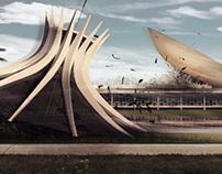 Brasília devastada