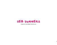 Seb Summers - Creative Designer Portfolio