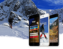 Tripz - Mobile app and website
