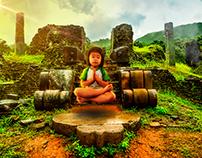 Small meditating