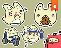 Ratita Stickers for MunkeeApps