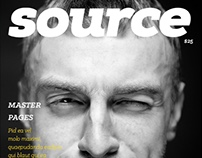 Source Magazine Template