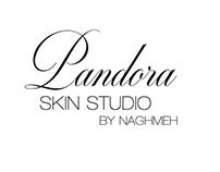 Pandora Skin Srudio Logo Design