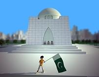 Quaid Birth Anniversary Ident