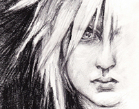 Final Fantasy character drawings