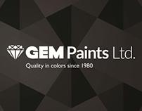GEM Paints Identity