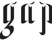 GAP: Typeface design