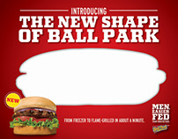 Ball Park New Product Launch - New Shape