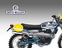 """MOTO MULLER """"REGOLARITA'"""" 450"""