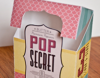 Pop Secret Redesign