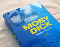 Diseño e ilustración de portada — Moby Dick