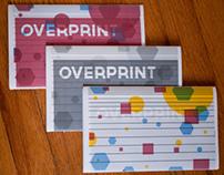 Overprint Brochures