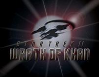Star Trek II Tribute Poster