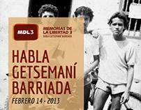 MEMORIAS DE LA LIBERTAD 3. Habla Getsemaní Barriada.